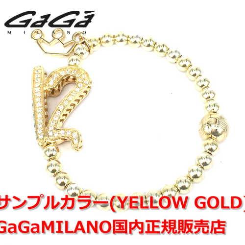 【国内正規品】【雑誌HEROS 2016年11月号掲載モデル】【売れ筋】GaGa MILANO/ガガミラノ Men's Ladies/メンズ レディース GB Bracelet/GBブレス GB-12 番号