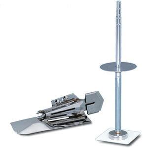 ベビーロック BL-72S用(ふらっとロック用)「四つ折(10mm幅)バインダー/テープスタンド」セット【RCP】