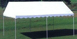 集会用テント【帆布製】 1間×1.5間(1.78m×2.69m)