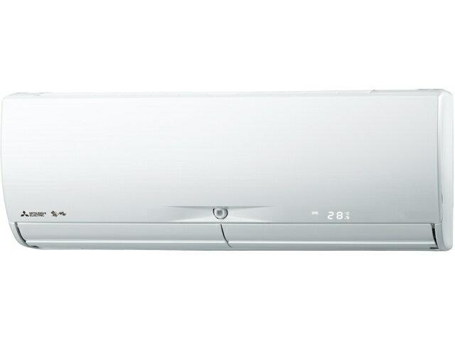 【最安値挑戦中!SPU他7倍~】ルームエアコン 三菱 MSZ-JXV3617S(W) JXVシリーズ 単相200V 15A  室内電源 12畳程度 ウェーブホワイト [■]