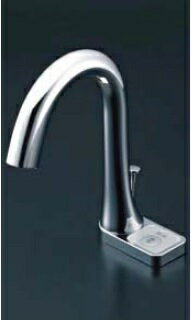 【最安値挑戦中!SPU他7倍~】水栓金具 INAX AM-211V1 洗面器・手洗器用 自動水栓 オートマージュ グースネック スイッチ付 単水栓 一般地 ポップアップ式 [□]
