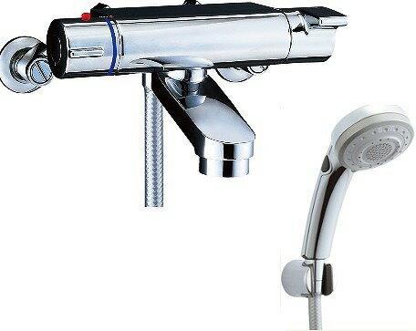 【最安値挑戦中!SPU他7倍~】水栓金具 INAX BF-2147TKSBW シャワーバス 洗い場専用 サーモスタット ヴィラーゴ 逆止弁付 一般地 [□]