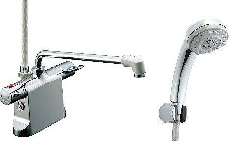 【最安値挑戦中!SPU他7倍~】水栓金具 INAX BF-B646TSB(300)-A85 サーモスタット付シャワーバス デッキ・シャワータイプ 逆止弁付 乾式工法 一般地 [□]