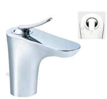 【最安値挑戦中!SPU他7倍~】水栓金具 INAX LF-YB340SY 洗面器・手洗器用 シングルレバー混合栓 FC・ワンホール エコハンドル 逆止弁付 一般地 ポップアップ式 [□]