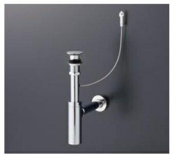 水栓金具 TOTO TLDS1002J 洗面器用排水金具 ボトルトラップ32mm 床排水金具 ワンプッシュ式 [■]
