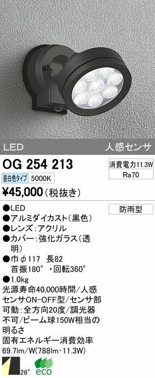 【最安値挑戦中!最大17倍】エクステリアスポットライト オーデリック OG254213 LED 昼白色 [∀(^^)]