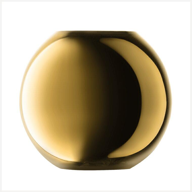 【送料無料】LSAインターナショナル TLA2351 G1161-16-358 POLKA VASE GOLD 花瓶 フラワーベース ギフト プレゼント 誕生日 記念日 アレンジメント