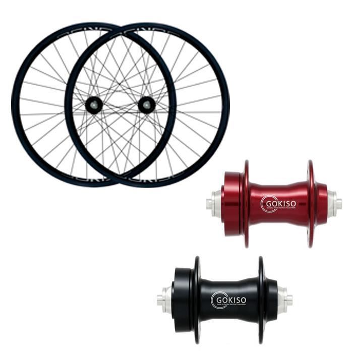 GOKISO (ゴキソ) ディスクMTB用 クリンチャー シマノ用 ホイールセット 25mm 【自転車】【ロードバイク】