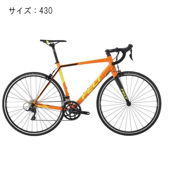FELT (フェルト) 2017モデル FR50 オレンジ サイズ430mm 完成車 【自転車】