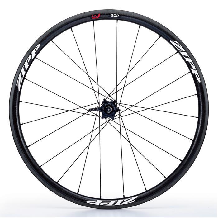 ZIPP(ジップ) 202 Firecrest ファイアクレスト カーボン クリンチャー Disc ホワイトロゴ シマノ用 11S リア用ホイール  【自転車】