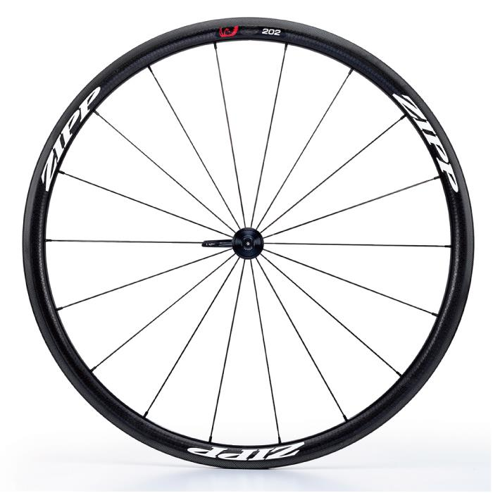 ZIPP(ジップ) 202 Firecrest ファイアクレスト カーボン クリンチャー ホワイトロゴ フロント用ホイール  【自転車】