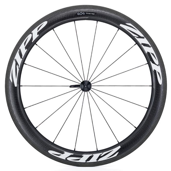 ZIPP(ジップ) 404 Firecrest ファイアクレスト カーボン クリンチャー ホワイトロゴ フロント用ホイール  【自転車】