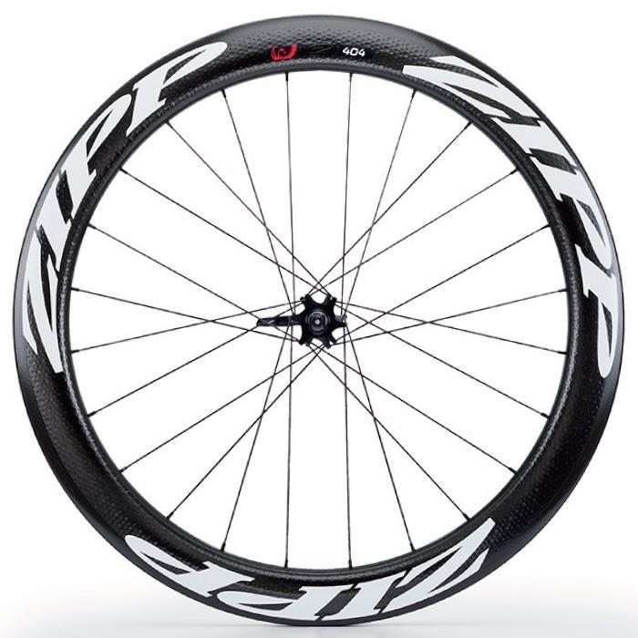ZIPP(ジップ) 404 Firecrest ファイアクレスト チューブラー Disc ホワイトロゴ フロント用ホイール  【自転車】
