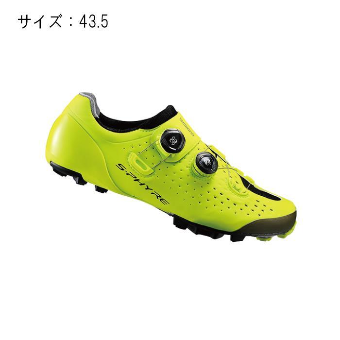 SHIMANO(シマノ) XC900Y イエロー サイズ43.5 シューズ 【自転車】