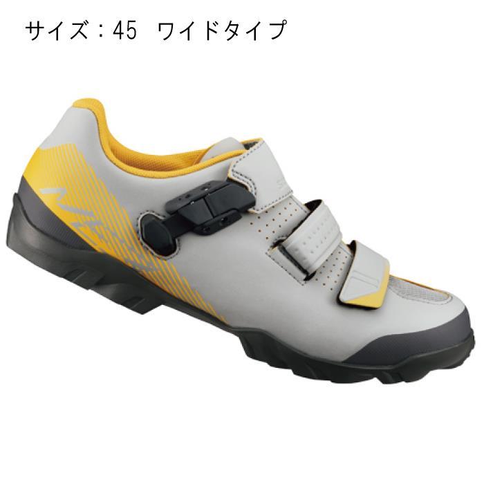 SHIMANO (シマノ) ME300MGE グレー/イエロー サイズ45 (28.5cm) シューズ