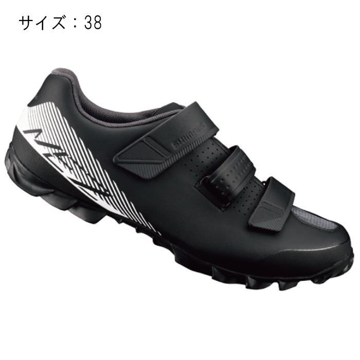 SHIMANO (シマノ) ME200ML ブラック/ホワイト サイズ38 (23.8cm) シューズ