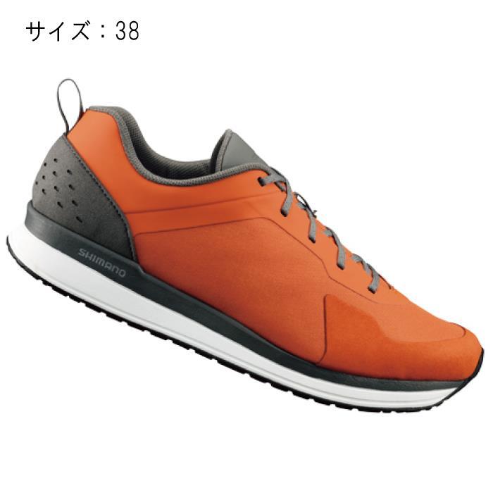SHIMANO (シマノ) CT500MR オレンジ サイズ38 (23.8cm) シューズ