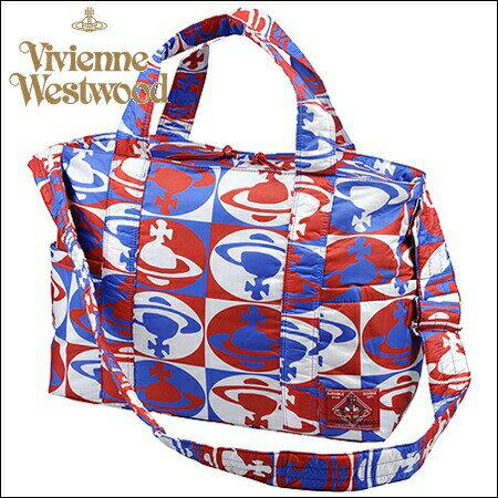 ヴィヴィアンウエストウッド 財布 ヴィヴィアン バッグ Vivienne Westwood ヴィヴィアン ウエストウッド チェッカーORB バッグ ブルー
