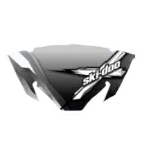 【ski-doo】SPORT PERFORMANCE FLARED WINDSHIELDREV-XP