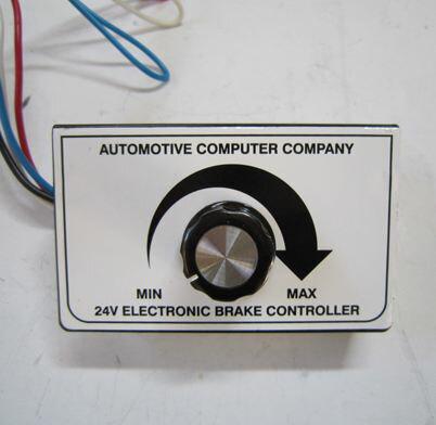 安価な利益を有する OKI TRAILERS 24V用ブレーキコントローラー(車外取付けタイプ)※特別送料