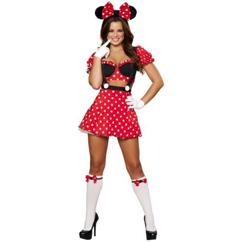 セクシー Mouse 大人用 レディス 女性用 ハロウィン コスチューム コスプレ 衣装 変装 仮装