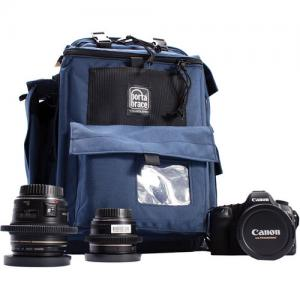 Porta Brace ポータブレイス BC-1N カメラバッグ Backpack Camera Case Signature Blue