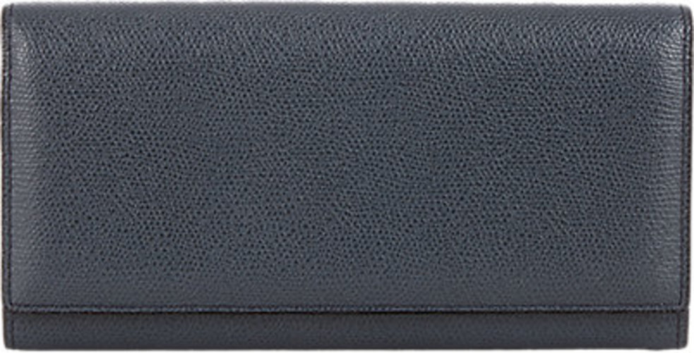Valextra Long Wallet with Card Insert