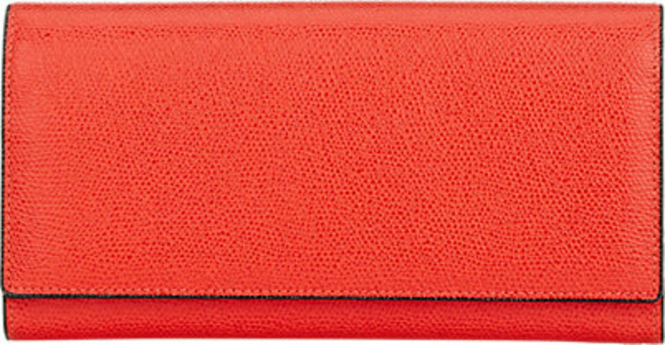 Valextra Large Wallet With Card Case
