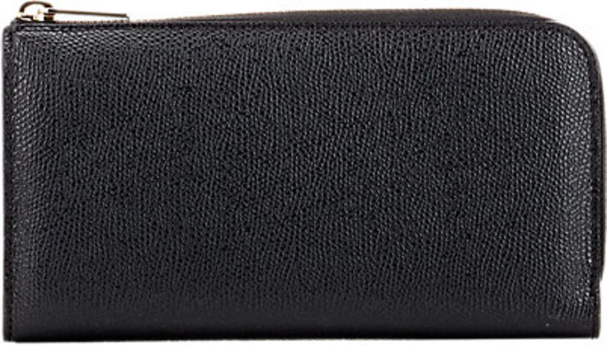Valextra Zip-Around Wallet