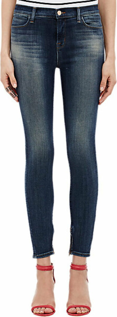 J Brand Cropped Core Jeans
