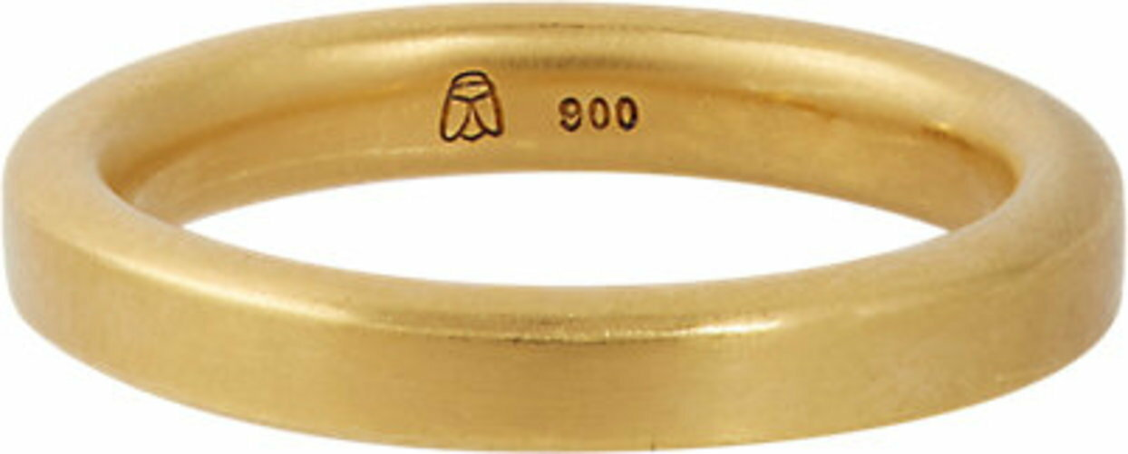 Linda Lee Johnson Gold Huston Ring