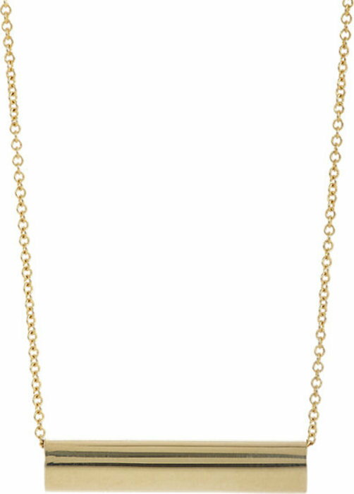 Jennifer Meyer Tube Charm Necklace