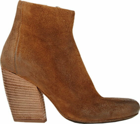 Marsll Suede Side-Zip Boots
