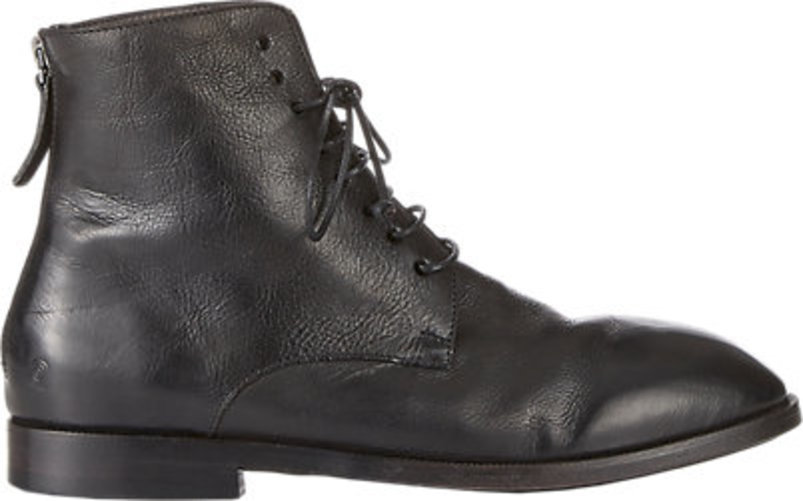 Marsll Back-Zip Ankle Boots