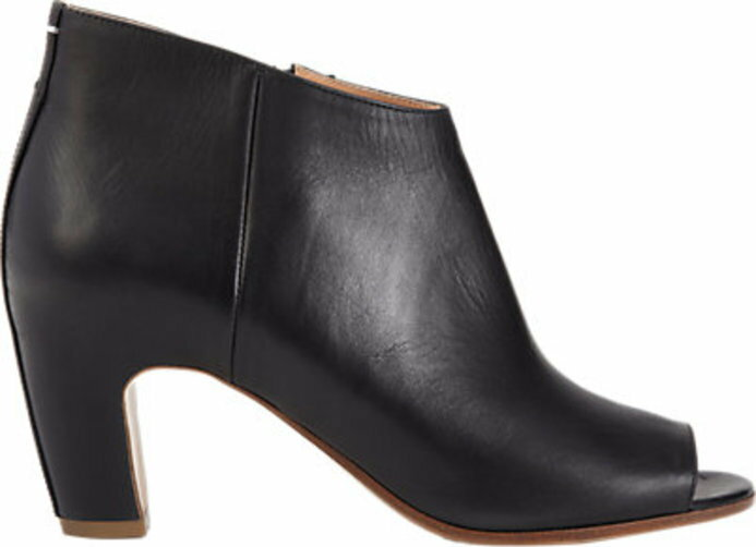 Maison Margiela Short Peep Toe Ankle Boot