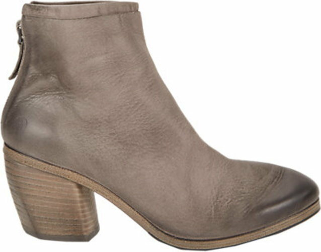 Marsll Layered Back-Zip Ankle Boots