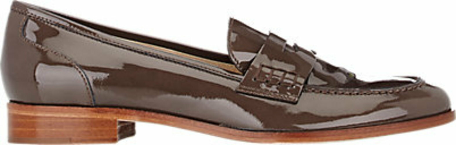 Barneys New York Apron-Toe Penny Loafers