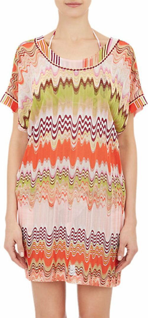 Missoni Mare Zigzag Knit Cover-Up Dress