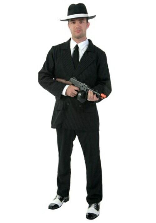 コスプレ ハロウィン PIN STRIPE ギャング ギャングスター ヤクザ ヤンキースーツ 大人用 メンズ 男性用 衣装  衣装 学園祭 文化祭 コスチューム  仮装 変装