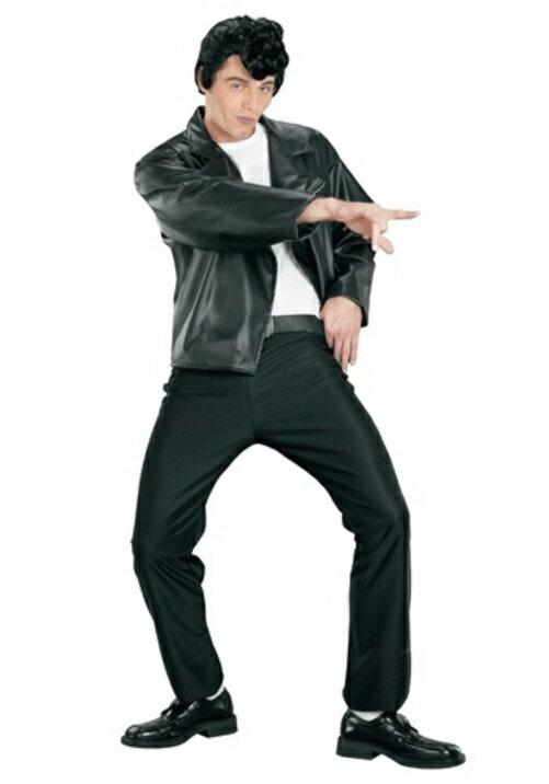 コスプレ ハロウィン 50'S GREASER JACKET 大人用 メンズ 男性用 衣装  衣装 学園祭 文化祭 コスチューム  仮装 変装