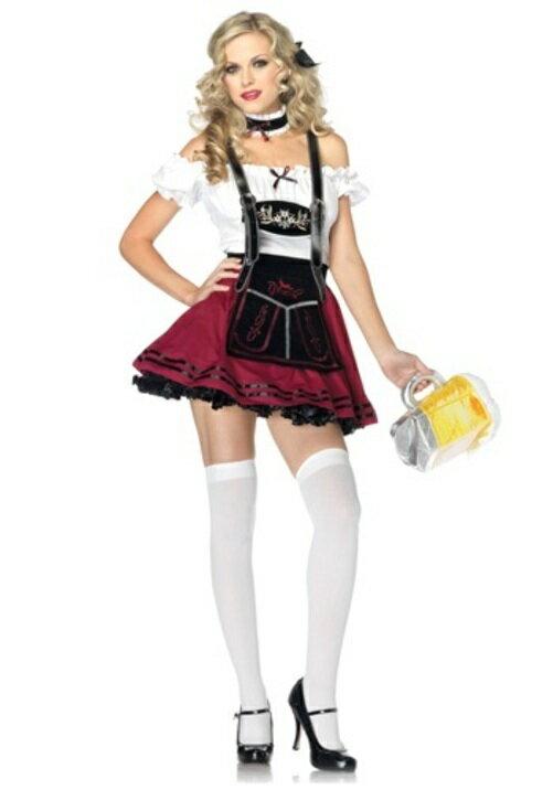 コスプレ ハロウィン ビールSTEIN ビューティー 大人用 レディス 女性用 衣装 ドレス ワンピース  衣装 学園祭 文化祭 コスチューム  仮装 変装