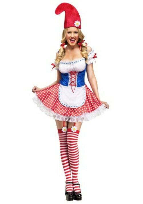 コスプレ ハロウィン WOセクシーGNOME 大人用 女性用 衣装 ドレス ワンピース  衣装  学園祭 文化祭 コスチューム  仮装 変装