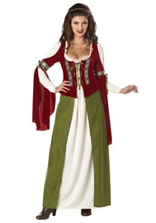 コスプレ ハロウィン メイド メイド服 メイドさんMARIAN 大人用 レディス 女性用 衣装 ドレス ワンピース  衣装 学園祭 文化祭 コスチューム  仮装 変装