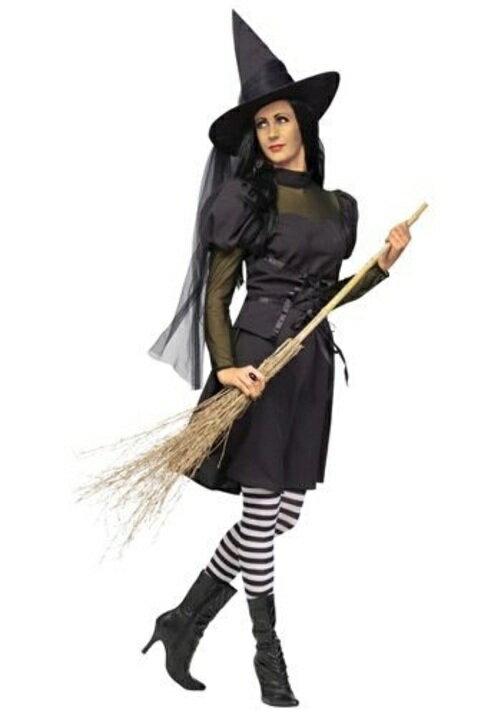 コスプレ ハロウィン MS. 魔女 大人用 レディス 女性用 衣装 ドレス ワンピース  衣装 学園祭 文化祭 コスチューム  仮装 変装