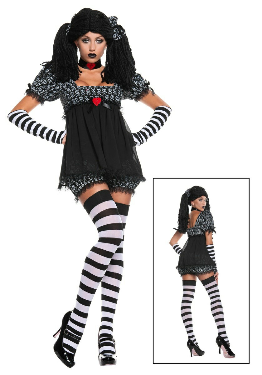 EXCLUSIVE SEXY GOTHIC RAG DOLL ハロウィン コスプレ コスチューム 仮装