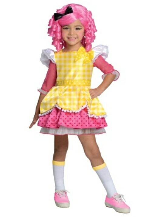 コスプレ ハロウィン LALALOOPSY CRUMBS SUGAR COOKIE 子供用 女の子 衣装 ドレス ワンピース  衣装  学園祭 文化祭 コスチューム  仮装 変装