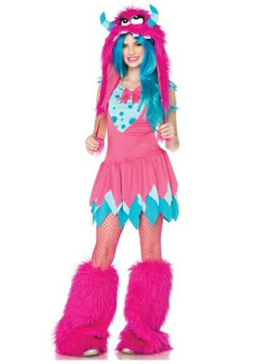 コスプレ ハロウィン MISチーフMONSTER 子供用 女の子 衣装 ドレス ワンピース  衣装 学園祭 文化祭 コスチューム  仮装 変装