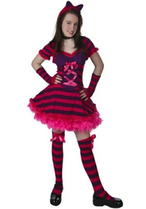 コスプレ ハロウィン WONDERLAND CAT 子供用 女の子 衣装 ドレス ワンピース  衣装  学園祭 文化祭 コスチューム  仮装 変装