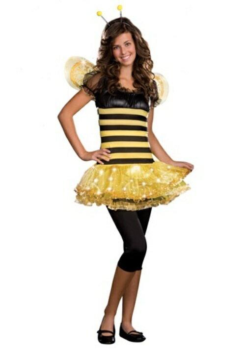 コスプレ ハロウィン BUSY LIL BEE 子供用 女の子 衣装 ドレス ワンピース  衣装 学園祭 文化祭 コスチューム  仮装 変装
