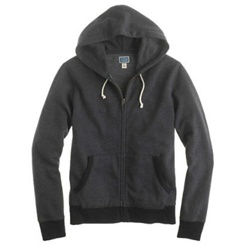 Full-zip hoodie Regular black